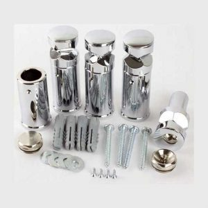 chrome towel radiators fixing kit