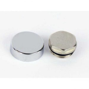 Chrome Cover Cap & Blanking plug