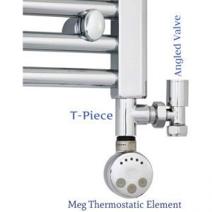 Dual Fuel KIT Thermostatic Heating Element Electric Terma Meg