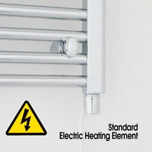 electric towel radiator pre filled with standard heating element