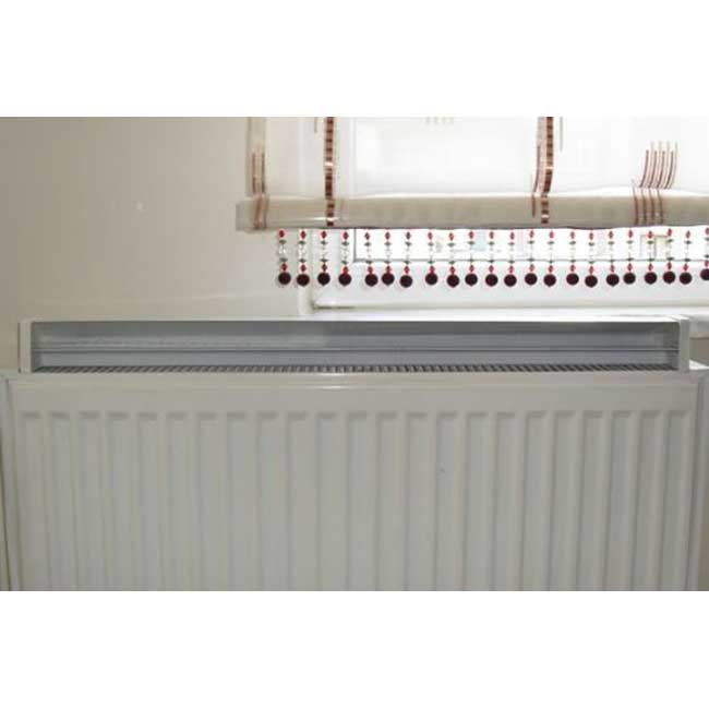 1800mm Myhomeware Radiator Air Flow Adapter Diverter Booster Radiator For Double