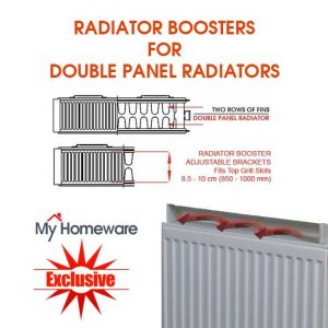 radiator boosters for double panel radiators