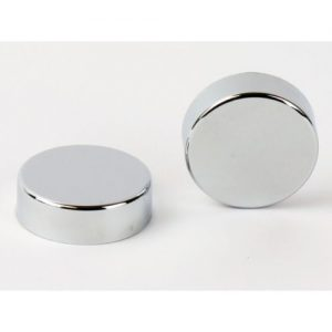 Chrome Cover Cap for Towel Rail Radiator blanking plug and air vent valves caps